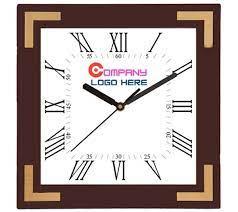 square shape wall clock large wall