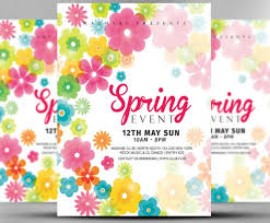 Beautiful Free Spring Invitation Templates Picture Mericahotel
