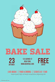 Bake Sale Flyer Templates Free Bake Sale Flyer Template Postermywall