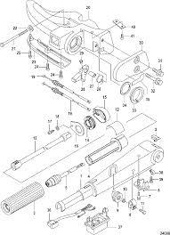 Mercury mariner 8 9 9 209cc 4 stroke tiller handle