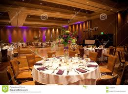 Tables At Wedding Reception Stock Image Image 16123241