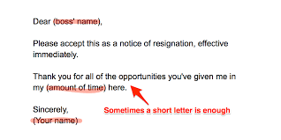 Retirement Letter How To Write A Resignation Letter Business Insider