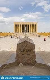 Anitkabir, Das Mausoleum Von Der Türkei Gründer Mustafa Kemal Ataturk  Redaktionelles Foto - Bild von november, stadt: 150231036