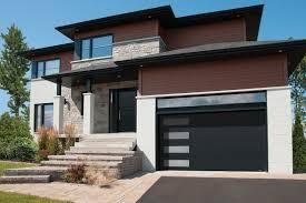 modern garage door. Black Modern Garage Door With Windows Homecm In Doors Modern Garage Door