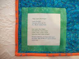 Quilt Poems Poems &  Adamdwight.com