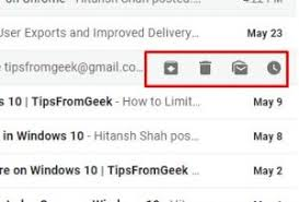 Image result for inline gmail action buttons