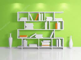 modern bookshelf — stock photo © rukanoga