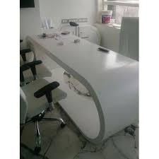 Image Acrylic Wood Acrylic Solid Surface Office Desk The Home Depot Acrylic Solid Surface Office Desk Malani Impex Ahmedabad Id