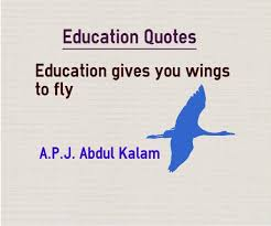 Quotes On Education Cool Education Gives You Wings To Fly