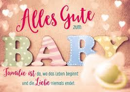 Alles Gute Zum Baby Baby Familienkarten Echte Postkarten
