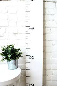 Wooden Growth Chart Augustineconstruction Com