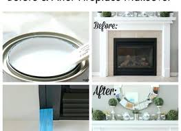 paint fireplace tile how to paint tile easy fireplace paint makeover painting ceramic tile fireplace hearth