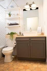 Toilet Decor Features Elegant Etagere With 2 Glass Doors 1 Adjustable Shelf 1