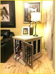 dog kennel table end table kennel dog crate dog crate side table the best custom dog dog kennel table