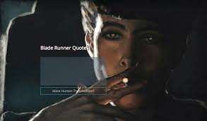 Blade Runner Quotes Stunning Blade Runner Quote Generator