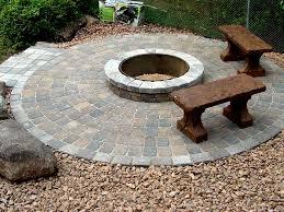 diy patio with fire pit. DIY Brick Fire Pit Ideas FIREPLACE DESIGN IDEAS Regarding Pits Plans 14 Diy Patio With L