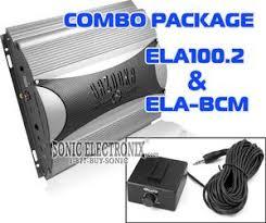 bazooka ela100 2 ela bcm (ela1002_elabcm) 500w max, 2 channel Bazooka Ela Wiring Diagram bazooka ela100 2 with bonus ela bcm bass remote bazooka el wiring diagram