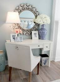 vanity table with drawers no mirror.