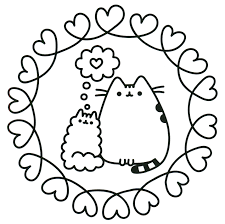 Pusheen Unicorn Coloring Pages At Getdrawingscom Free For