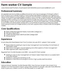 Livecareer Co Uk Farm Worker Resume Sample Ipasphoto