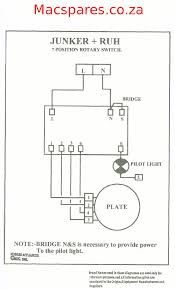 wiring diagrams stoves switches and thermostats macspares rotary 3 heat switch · rotary 6 position switch · two plate hotplate connection