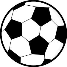 スポーツ サッカーボールモノクロ 無料イラストpowerpoint