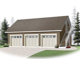 3 car garage loft plan 028g 0053