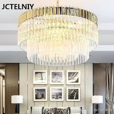 dining room gold and crystal chandelier new designer style post modern golden