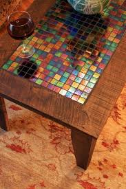 25 best ideas about glass table top replacement on iridescent glass tile inlay in coffee table if you re looking to protect the top of your