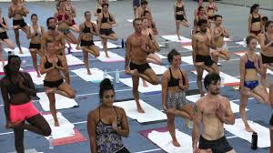 bikram yoga teacher fall 2016