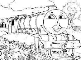 Thomas Train Coloring Pages Printable Tennisplusme