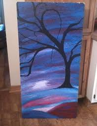 3 my ceiling tile painting done at school