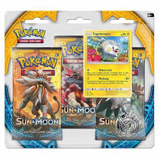 Pokemon Trading Card Game Pokemon Sun & Moon 3 Pack Blister - Togedemaru -  Triple Booster - Trading Cards - Trading Card Games from Hills Cards UK