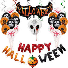 <b>Halloween</b> Balloons <b>Spoof</b> Tricky Party Decoration Aluminum Film ...