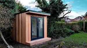 garden office space. garden fortress have recently completed this office pod at meters x its a compact space but ideal as one person home