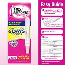 First Response Early Result Pregnancy Test 2 Pack