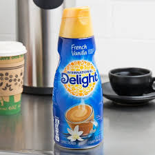 International delight hershey's chocolate caramel coffee creamer International Delight 32 Fl Oz French Vanilla Coffee Creamer 12 Case