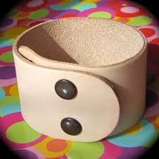 my tutorial will be on a leather cuff bracelet i have spotted several of these at a few of my favorite s and boutiques at really high points