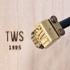 woodworking branding iron. date attachment for branding irons woodworking iron