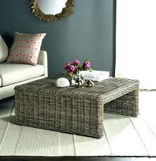 indoor wicker coffee table medium size of tables furniture by round surprising room scenic ideas archived
