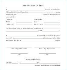 Car Bill Of Sale Pdf 15 Used Car Bill Of Sale Pdf Profesional Resume