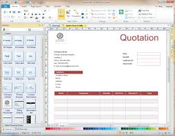 Software Quote Quote Form Software Create Quote Forms Rapidly with Templates 2