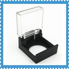 plastic emergency push on switches black clear safety protector cover cap