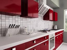 Cuisine Rouge Et Blanche 35 Idées Déco Toniques Pour Une Cuisine