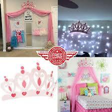 princess room decor for girls large
