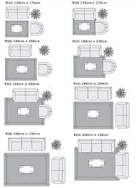 beautiful area rug size chart or area rug size guide for dining room unique rug placement