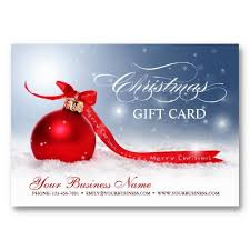 Holiday Gift Certificates Blank Christmas Holiday Gift Certificates Zazzle Com