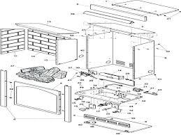 fireplace parts diagram anatomy