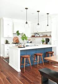 kitchen peninsula with seating white and blue kitchen peninsula kitchen peninsula with seating on both sides