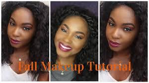 fall breeze makeup tutorial cut crease estee lauder double wear foundation